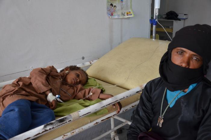 Yehya Abdullah får behandling hos Leger Uten Grensers senter i Khamer.