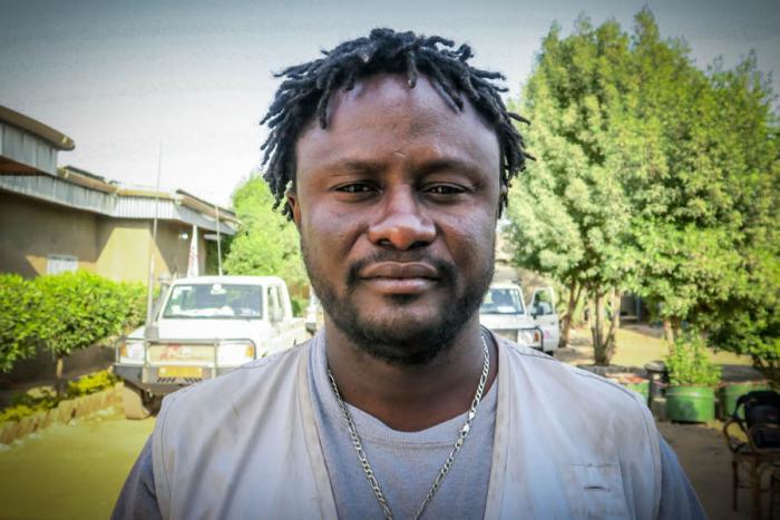 Alfred Davies, feltkoordinator for Leger Uten Grenser i Nigeria